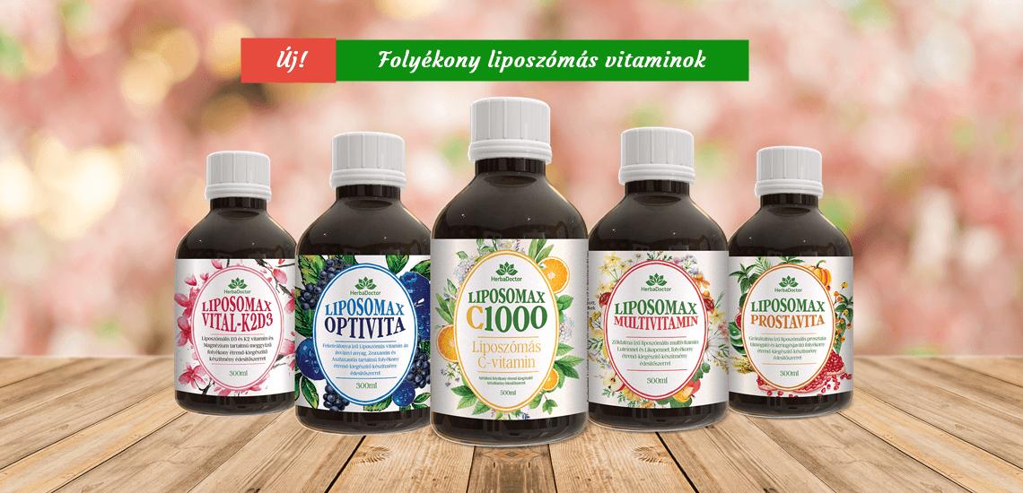 Liposzómás vitaminok