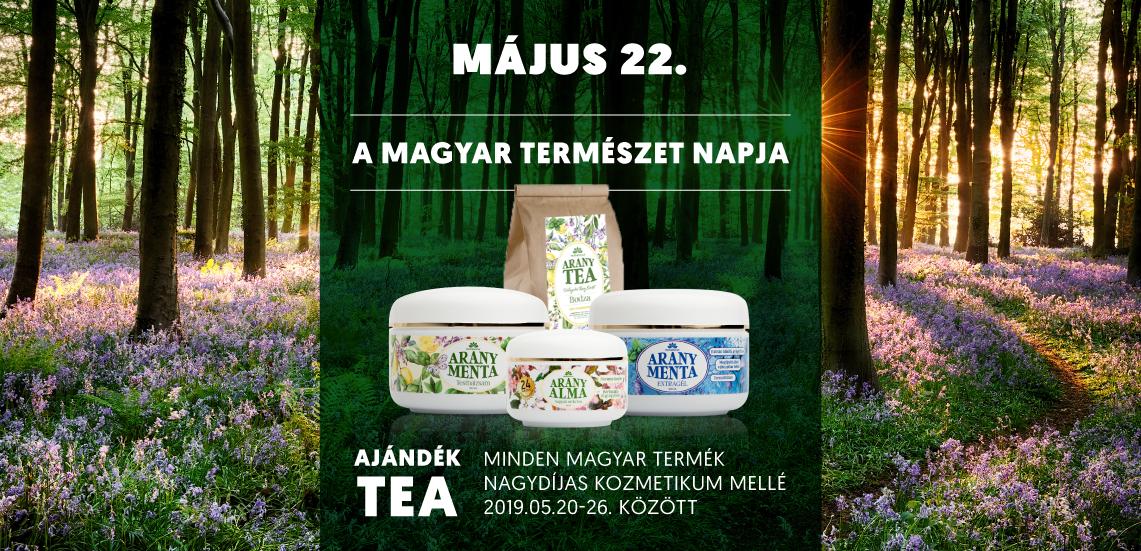 Ajándék gyógynövény tea