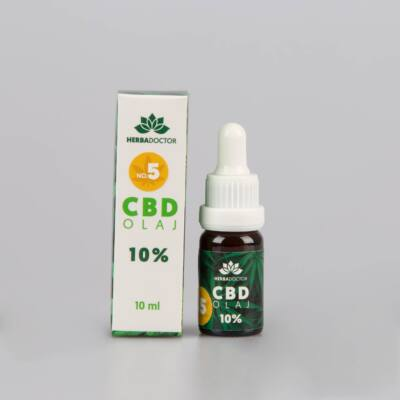 Herbadoctor 10 %-os CBD NO5 10ml