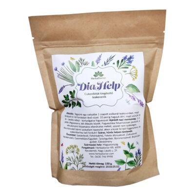 DiaHelp cukordiétát kiegészítő teakeverék 150 g