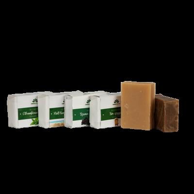 Kávés kecsketejes szappan mentával és eukaliptusszal