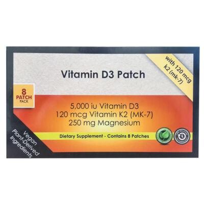 D3 Napfény Vitamintapasz 8 db
