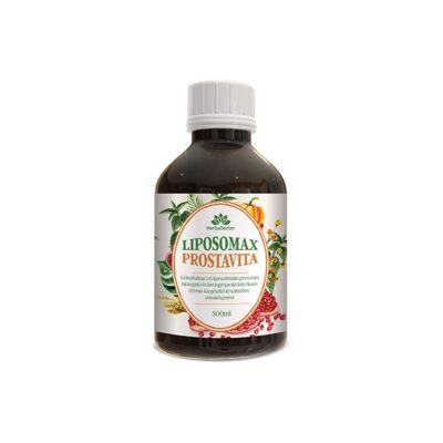 Liposomax Prostavita - Liposzómális prosztata támogató folyékony étrend-kiegészítő 300 ml
