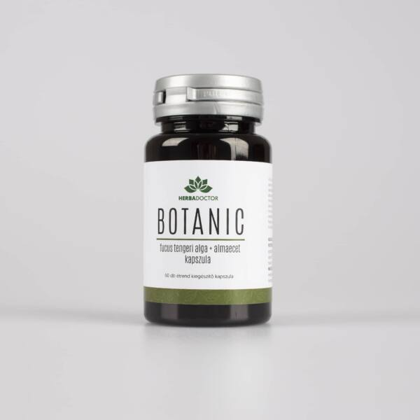 Botanic Fucus tengeri alga és almaecet