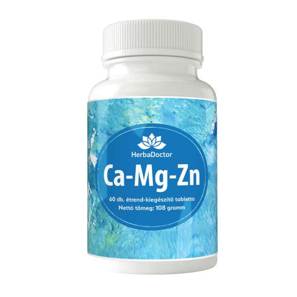 Ca-Mg-Zn (Kalcium-Magnézium-Cink) tabletta 60 db