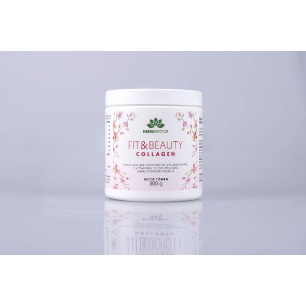 Fit & Beauty prémium hidrolizált kollagén mátrix japán cseresznye íz