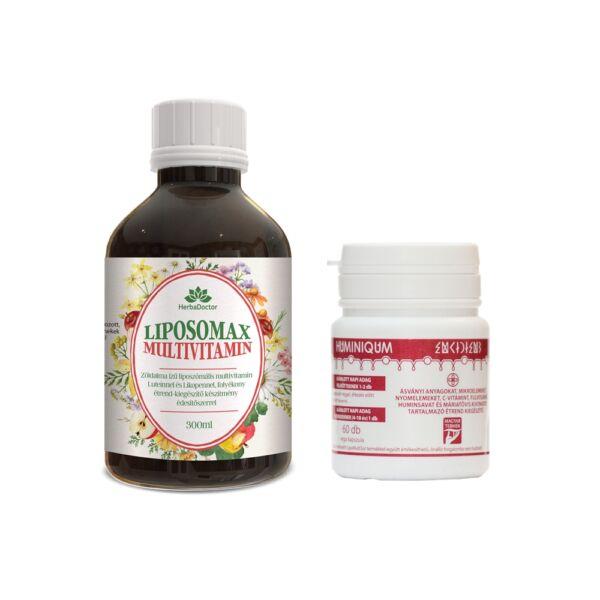 Liposomax Multivitamin - Liposzómális folyékony étrend-kiegészítő 300 ml