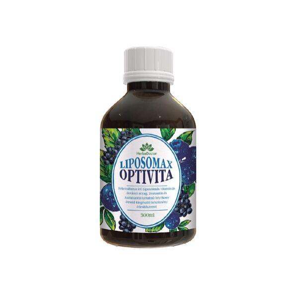 Liposomax Optivita liposzómás folyékony étrendkiegészítő 300 ml