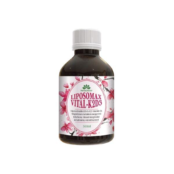 Liposomax Vital K2-D3 liposzómás étrendkiegészítő 300 ml